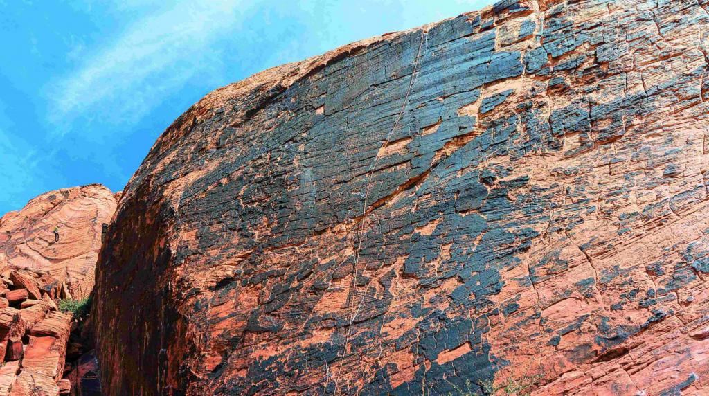 Entrée du parc Red Rock Canyon
