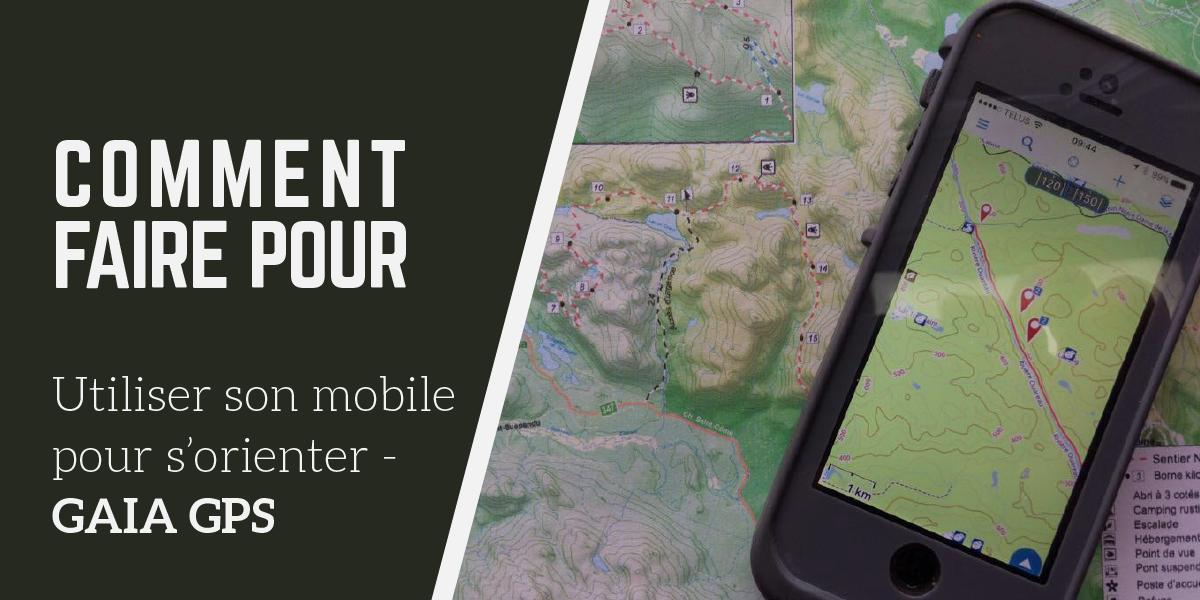 Comment faire pour: Utiliser son mobile pour s'orienter